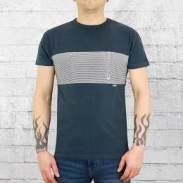 Derbe Hamburg Herren T-Shirt Kink OC blau