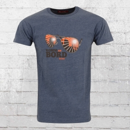 Derbe Hamburg Herren T-Shirt Komm an Bord blau