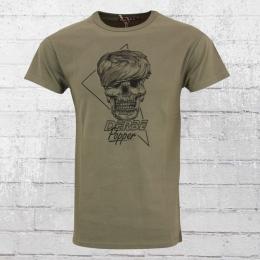 Derbe Hamburg Herren T-Shirt Popper oliv