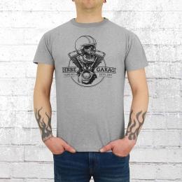 Derbe Hamburg Männer T-Shirt Helmet grau