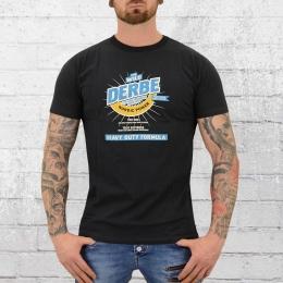 Derbe Hamburg Männer T-Shirt Nordic Power schwarz