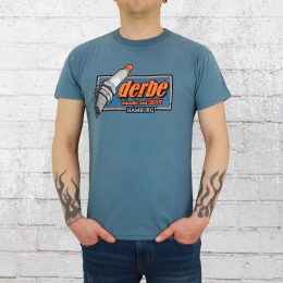 Derbe Hamburg Männer T-Shirt Zündkerze blau
