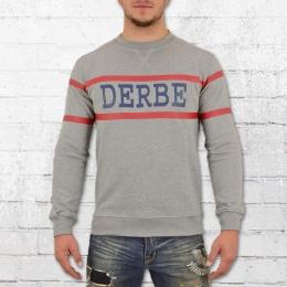 Derbe Hamburg Pullover Männer Block Boys grau