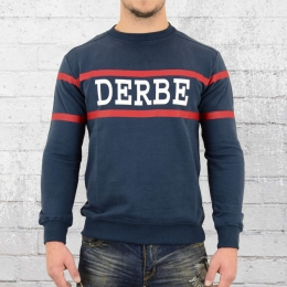 Derbe Hamburg Sweatshirt Block Boys Sweater blau