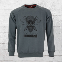 Derbe Hamburg Sweatshirt TOTDY anthrazit