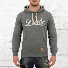Derbe Herren Kapuzensweater Roadmovie grau