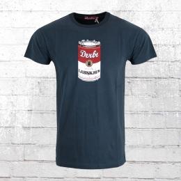 Derbe Herren T-Shirt Labskaus dunkelblau
