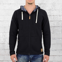 Derbe Kapuzenjacke Herren Daily Sweater schwarz