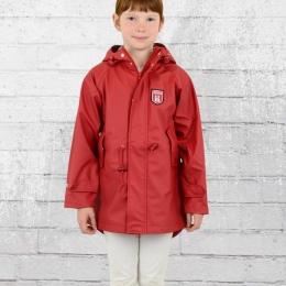 Derbe Kinder Travel Friese Regenjacke rot blau