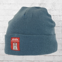 Derbe Winter Mütze Basic Beanie petrol blau