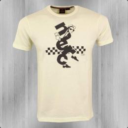 Merc London Herren T-Shirt Ska Desmond creme weiss
