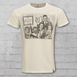 Dirty Velvet Männer T-Shirt Guns Guns Guns natur weiss