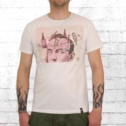 Dirty Velvet Männer T-Shirt The Hangover weiss