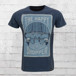 Dirty Velvet Organic Cotton T-Shirt The Happy Shopper blau