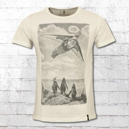 Dirty Velvet Special T-Shirt The Aviator weiss