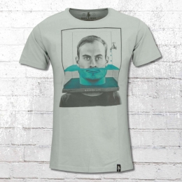 Dirty Velvet T-Shirt Herren Head Above Water grau