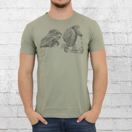 Dirty Velvet  T-Shirt Rapid Reptile hell grün