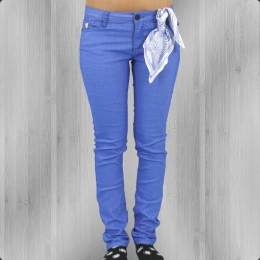 Fuga Damen Jeanshose Felix Slim Colour light blue