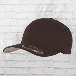 Flexfit Blanko Cap braun Mütze Kappe Schirmmütze