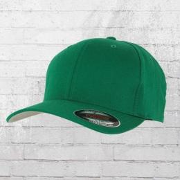 Flexfit Blanko Cap grün Mütze Kappe Schirmmütze L/XL