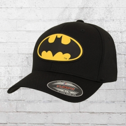 Merchcode Flexfit Cap Batman schwarz
