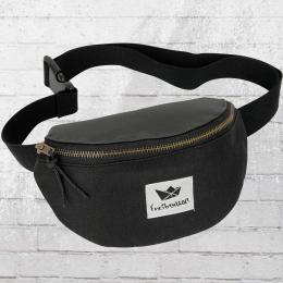 Freibeutler Gürteltasche Hip Bag Bauchtasche schwarz