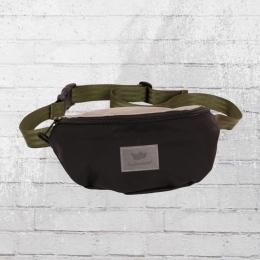 Freibeutler Gürteltasche Hip Bag Vegan Oliv Strap schwarz