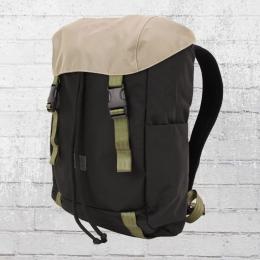 Freibeutler Backpack Ante Olive Strap black beige