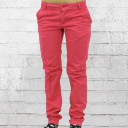 Fuga Damen Chino Hose Dryes flamingo