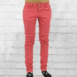 Fuga Damen Jeanshose Larina Tapered Antifit fuchsia
