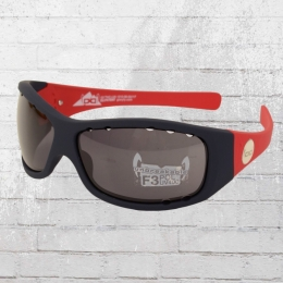Gloryfy Sun Glasses G3 Twice Lava Air Polarized black red