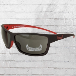 Gloryfy Unbreakable Sun Glasses G13 mat black red