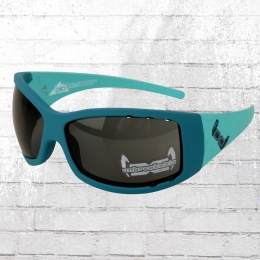 Gloryfy Unbreakable Sonnenbrille G2 Twice AIR blau türkis
