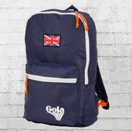 Gola zusammenfaltbarer Backpack Rucksack Gola Blane dunkelblau