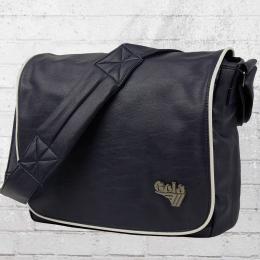 Gola Flap Messenger Schultertasche Webber Laptop Bag dunkelblau