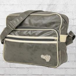 Gola Laptop Tasche Freeman Schultertasche grau cremefarben