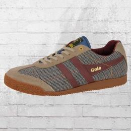 Gola Schuhe Herren Sneaker Harrier taupe dogtooth