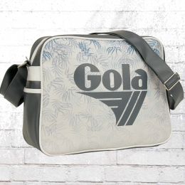 Gola Schulter Tasche Redford Watercolour grau weiss