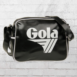 Gola Tasche Redford Retro Bag Schultertasche schwarz weiss
