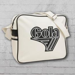 Gola Tasche Retro Bag Harnell Schultertasche weiss schwarz