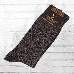 Goodness Industries Glitzer Socken schwarz