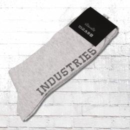 Goodness Industries Glitzer Strümpfe grau