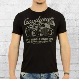 Goodyear Herren T-Shirt Bolton schwarz