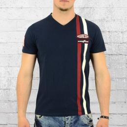 Goodyear Männer T-Shirt Oakville dunkelblau