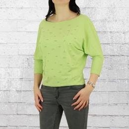 Greenbomb Frauen Longsleeve Shirt Lifestyle Ships grün