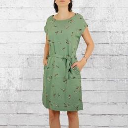 Greenbomb Kleid Feathers oliv grün