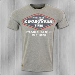 Goodyear T-Shirt Herren Greencastle grau meliert
