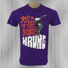 Wrung Herren Skater T-Shirt Still Grinding lila