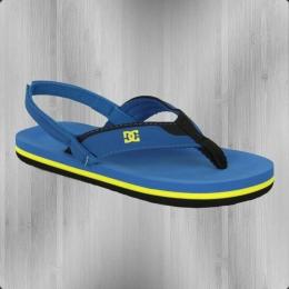 DC Shoes Baby Sandale Grommet blau gelb