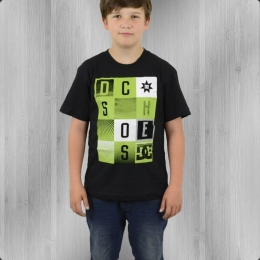 DC Shoes Kinder T-Shirt Holly Kids T schwarz